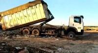 Lixo de Paranatinga começa a ser transportado para o aterro sanitário de Água Boa