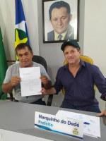 PONTE DO JATOBÁ - Mineiro protocola com prefeito de Paranatinga, solicitação em regime de urgência para manutenção