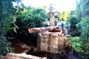 Nesta semana a prefeitura de Paranatinga concluiu a restauração da ponte da Linha do Mesquita.