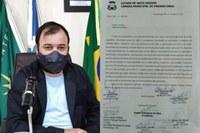 Vereador Cleitinho encaminha Ofício ao Executivo sobre ações e providencias relacionadas ao tratamento do Covid-19