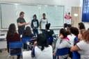 O Vereador também prestou contas aos alunos da escola de todas as cobranças Indicações e Ofícios desde o início do mandato