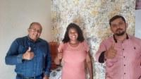 Vereadora Eva recebe visita dos assessores do deputado Thiago Silva e elenca as necessidades e demandas do município de Paranatinga