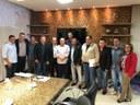 Os vereadores de Paranatinga estiveram participando de uma Audiência Pública nesta sexta-feira no Palácio Paiaguás com o governador Pedro Taques, para tratar de assuntos de interesse do município e principalmente da população.